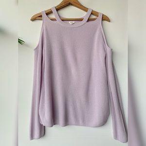 Small, GARAGE, lilac purple sweater